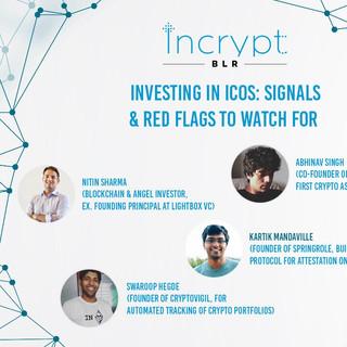 #IncryptBLR flagship event, Jan 2018