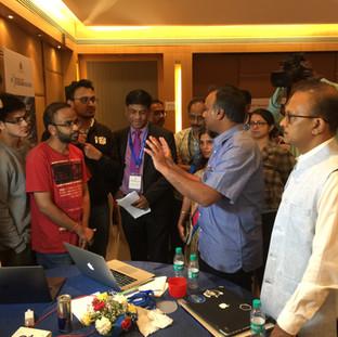 Govt. of Karnataka Blockchain Hackathon, Jan 2018