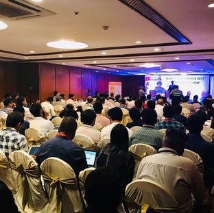 Gambit Conference, Hyderabad, Nov 2017