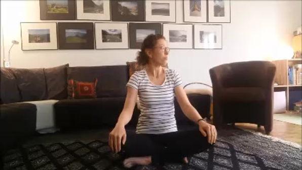 Kontrollierte Entspannung und Bewegung mit Natalie