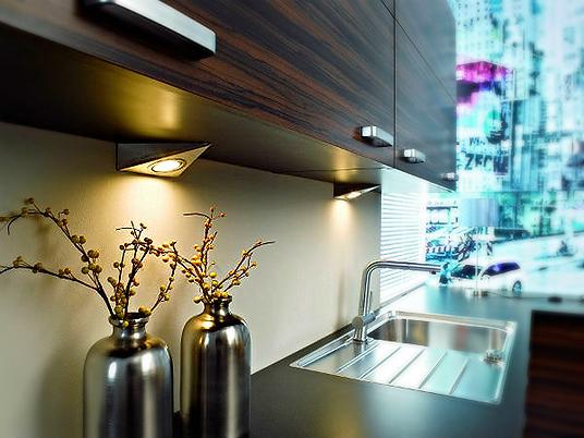 Кухни на заказ подсветка для кухни#ladodeja.ru