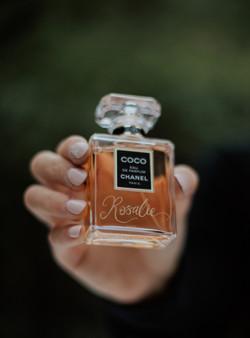 Engraved Chanel Perfume
