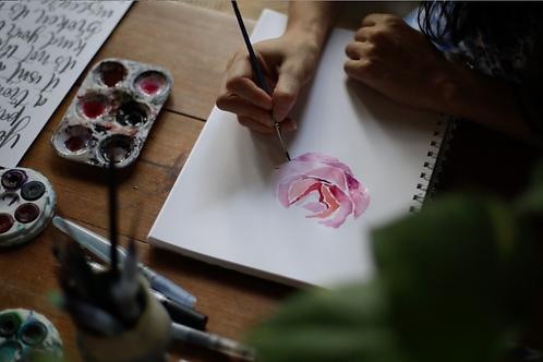 Online Watercolour Workshop