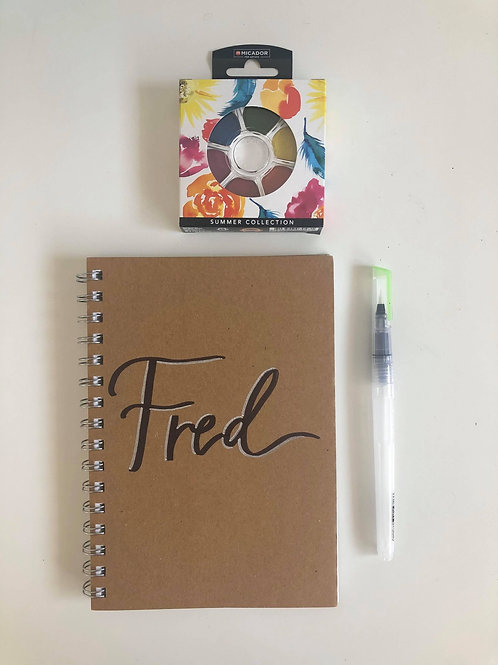 Personalised Visual Art Diary