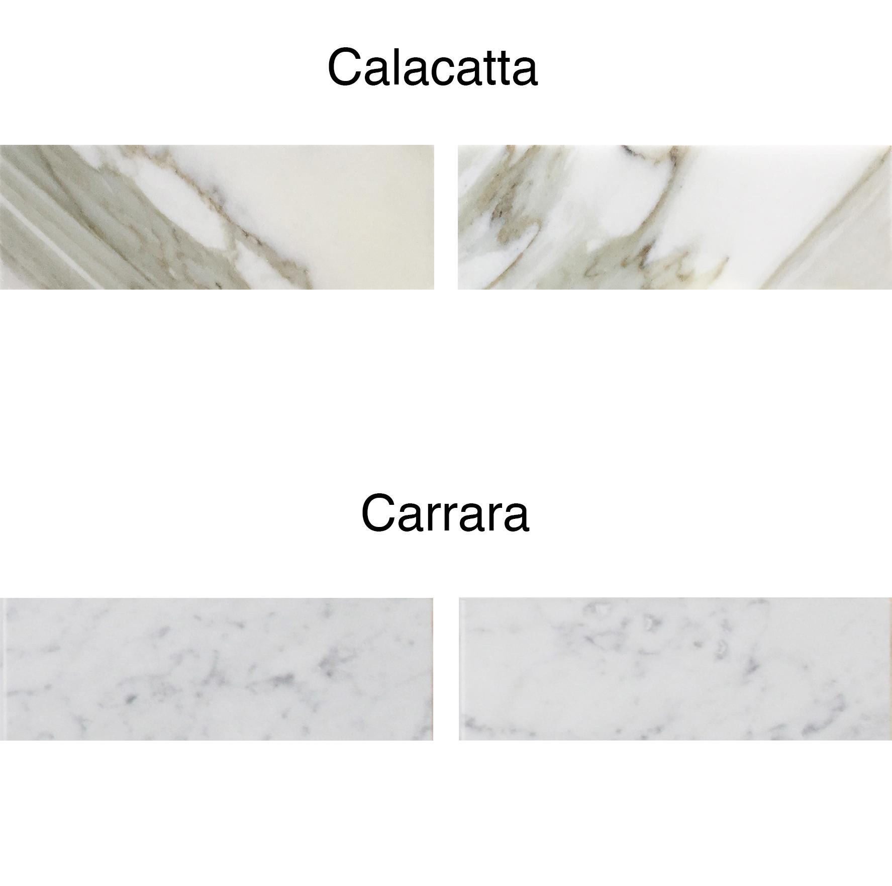 Carrara Vs Calacatta Marble What Is
