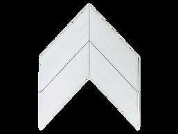 IMG_0748- 4x16 Bianco Dolomite Chevron 1