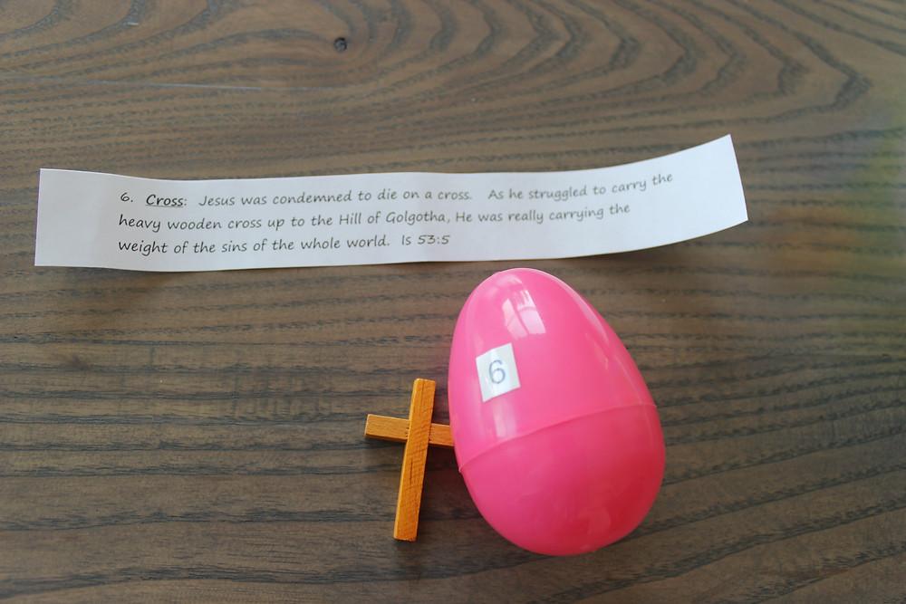 Egg #6 Cross