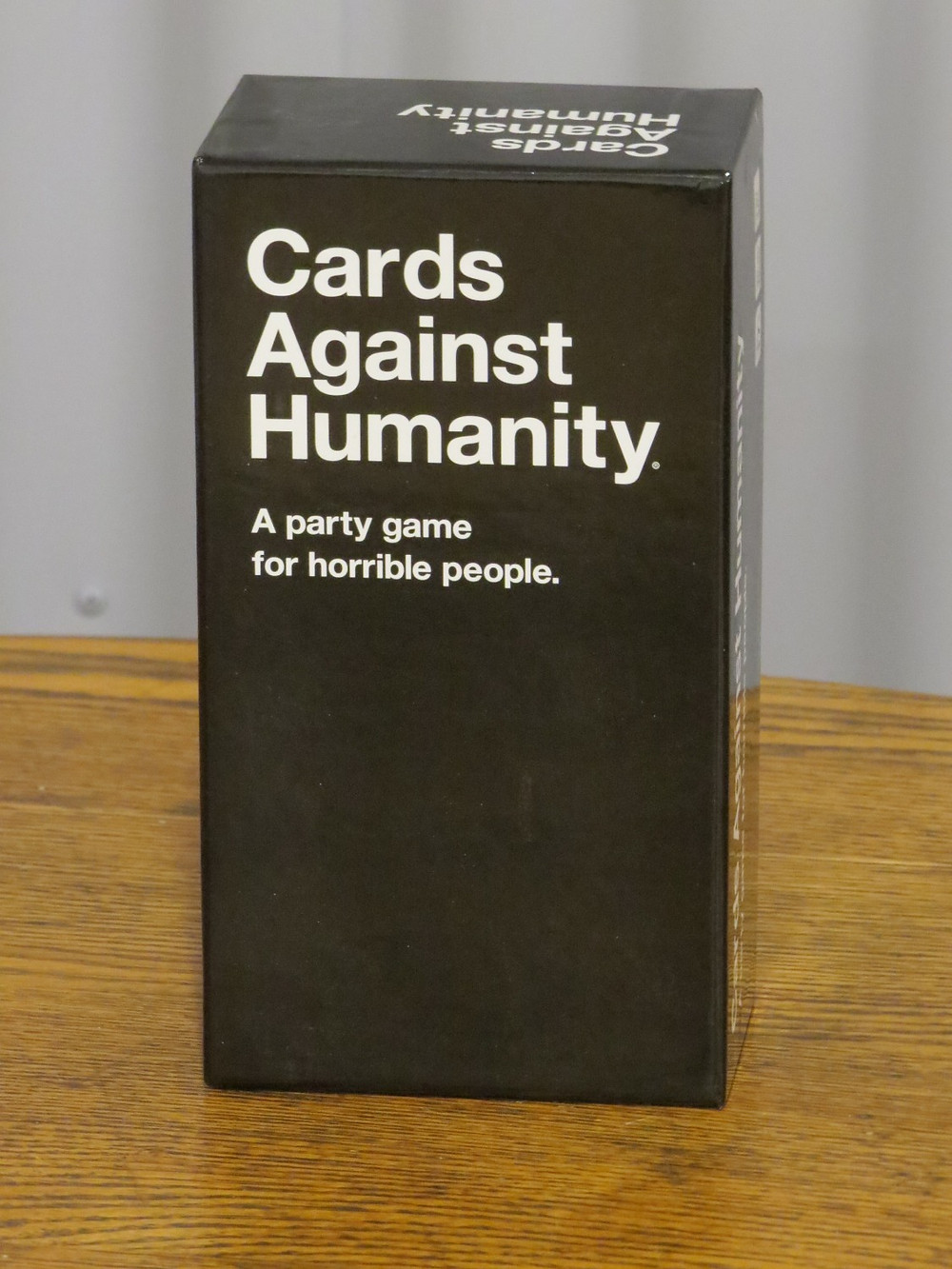 Cards Against Humanities game