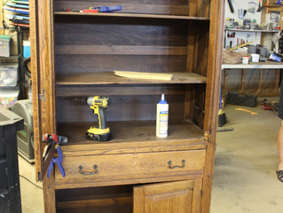 Cabinet~Inexpensive Furniture Makeover
