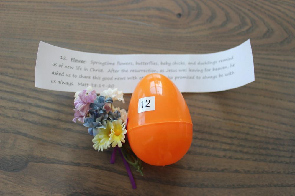 Egg #12 Flowers