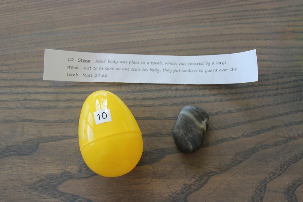 Egg #10 Stone