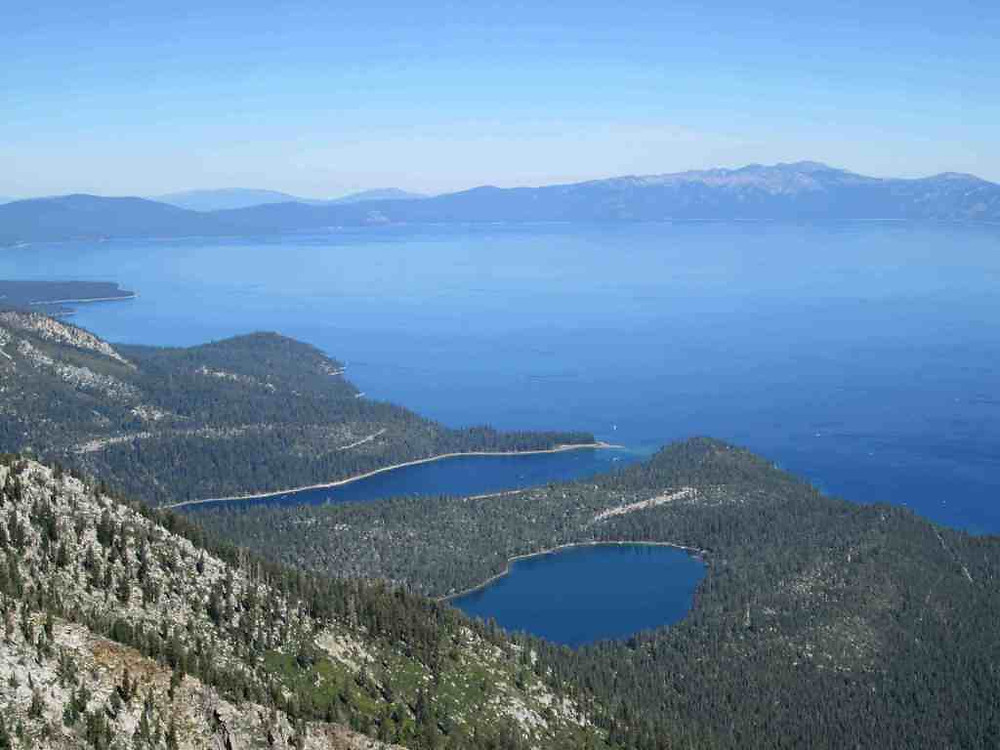 Incline Village Real Estate - View from summit of Mt. Tallac