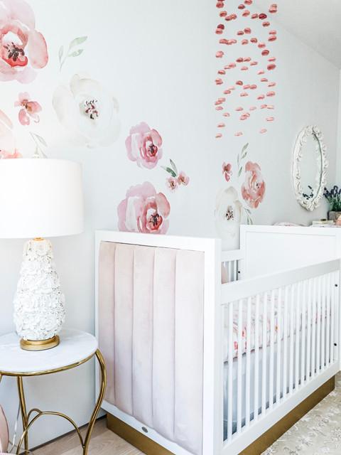 Charlotte's Boho Baby Girl Nursery 17