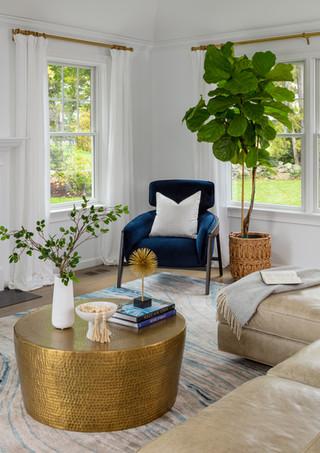 Rye NY Glam Living Room 9