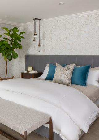 Rye NY Glam Master Bedroom 2