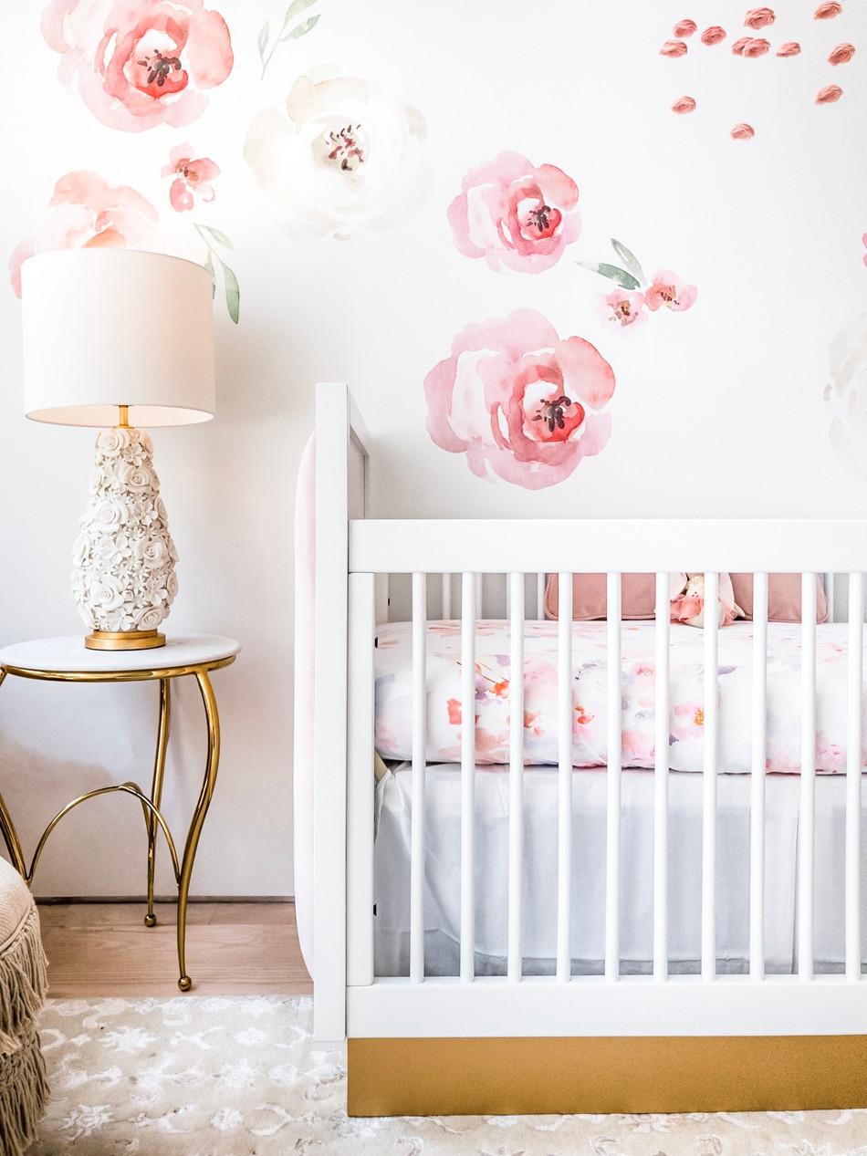 Charlotte's Boho Baby Girl Nursery 12