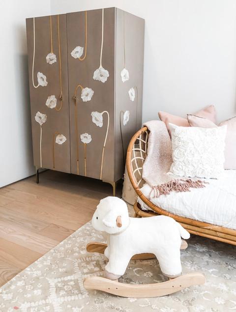 Charlotte's Boho Baby Girl Nursery 2