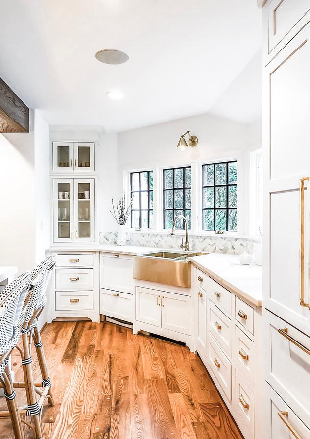 rye modern tudor kitchen