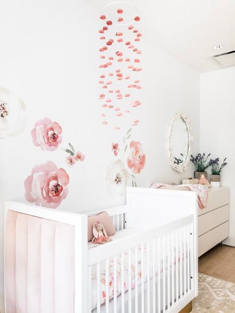 Charlotte's Boho Baby Girl Nursery 14