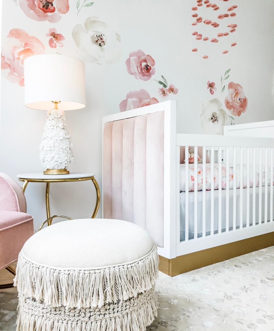 Charlotte's Boho Baby Girl Nursery 15