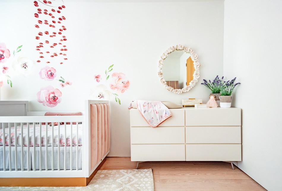 Charlotte's Boho Baby Girl Nursery 8