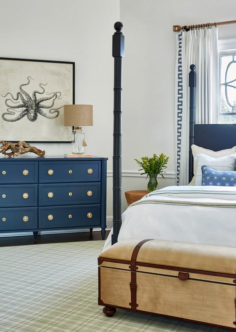Greenwich CT Nautical Bedroom 11