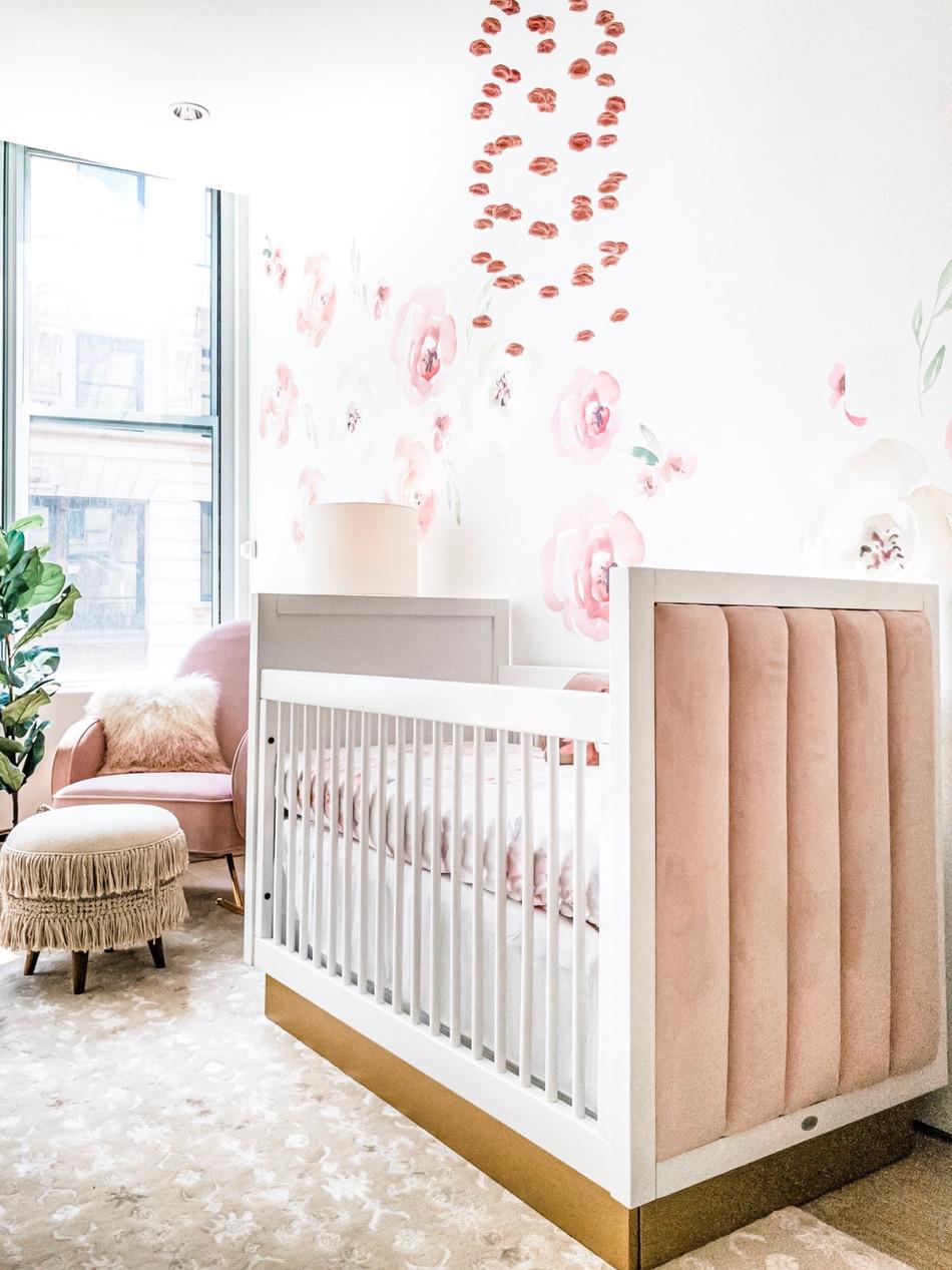 Charlotte's Boho Baby Girl Nursery 11