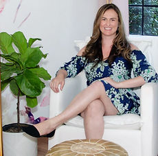 Curated Nest Interior Designer Lina Galvao professional photo | Westchester, Brooklyn, and NYC