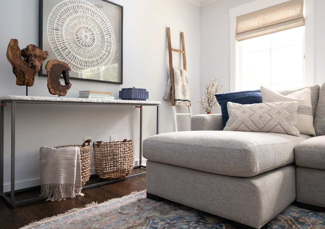 Boho Farmhouse Refresh NY Living room 11