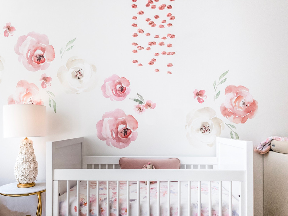 Charlotte's Boho Baby Girl Nursery 13