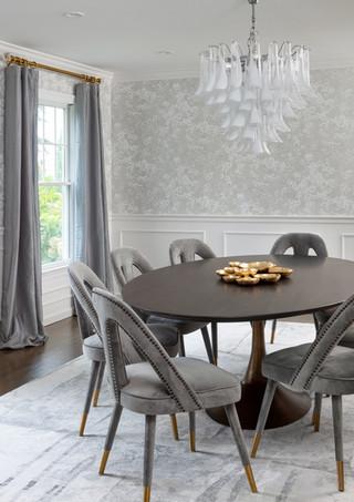 Rye NY Glam Dining Room 2
