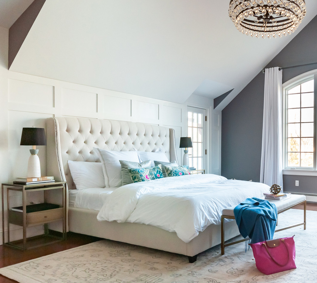 NJ Country House - Master Bedroom