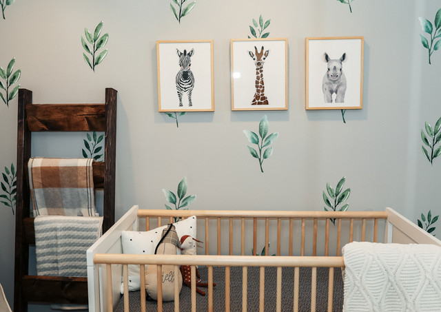 Nathan's Baby Boy Safari Nursery