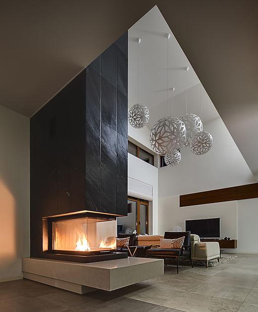 moderne Kamin