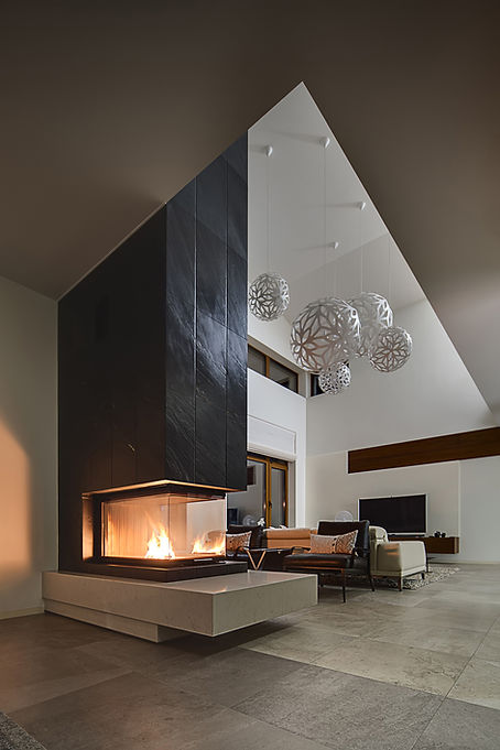Modern Fireplace in your Passive House UK