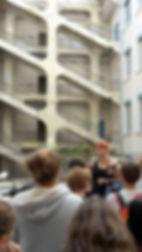 pep42 classe patrimoine lyon, découvrir lyon, scolaires
