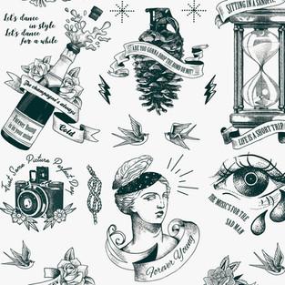 Remi Hotel Tattoo wallpaper Detail