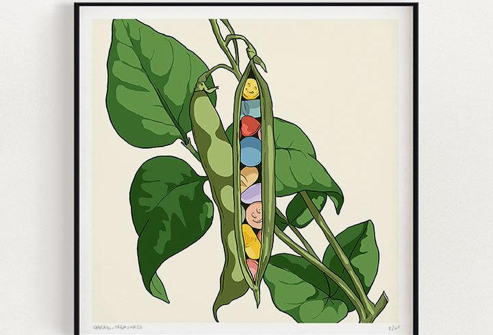 Magic Beans | Fine Art Print