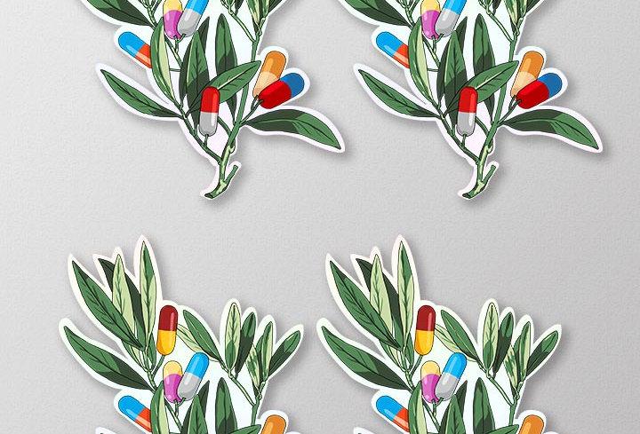 Olive Branch Sticker Pack