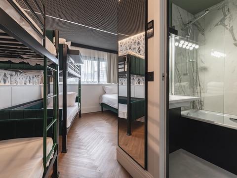 Wallpaper guest rooms - Remix Hotel Paris
