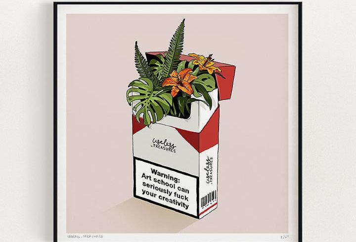 Warning | Fine Art Print