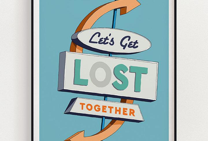 Lost | Fine Art Print