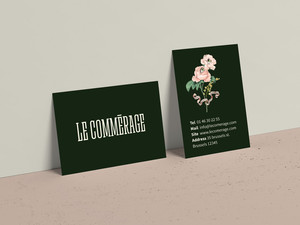 Le Commerage Cards