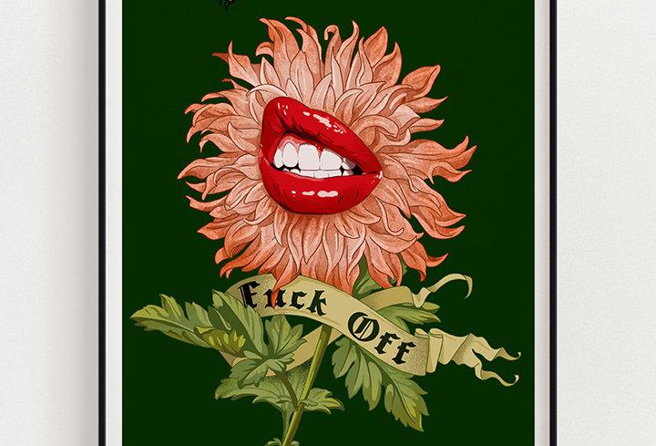 Fck Off | Fine Art Print