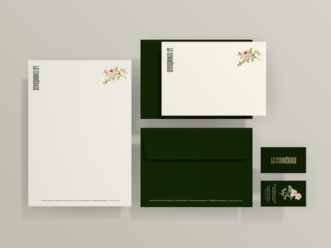 Le Commerage Stationary