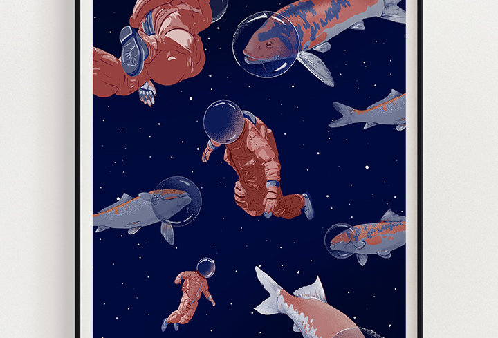 Space Pond | Fine Art Print