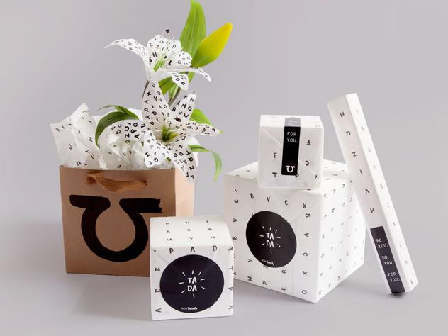 Nok Beauty's Packaging Design