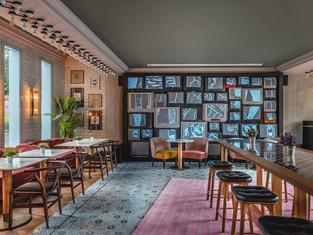 TV Wall illustration- Remix Hotel Paris