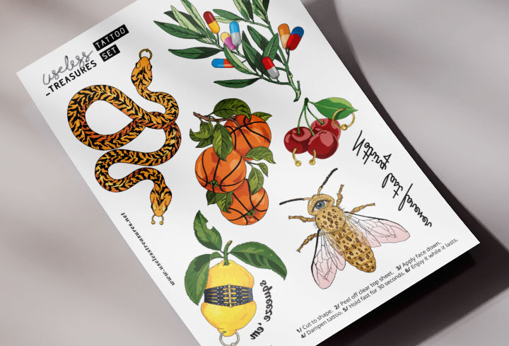 Forever #2 | Tattoo Set