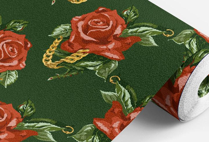 Rose Gold  | Seamless Pattern
